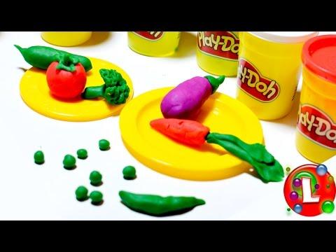 Как сделать еду из пластилина плей до