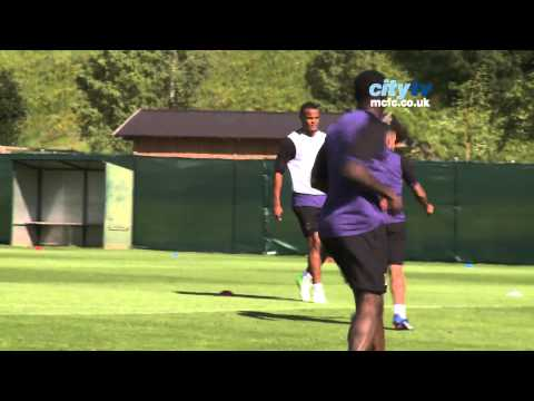 CITY IN AUSTRIA 19: Training Day 8 - Ice baths, free kick practice & Zabaleta scoring - HD