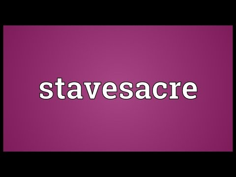 Header of stavesacre