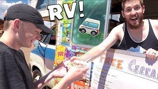 RV CEREAL TRUCK POP UP SHOP!