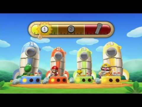 Mario Party 9 - All Free-For-All Mini Games part 1