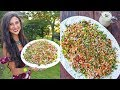 Meatless Thanksgiving Stuffing! FullyRaw Vegan Recipe!