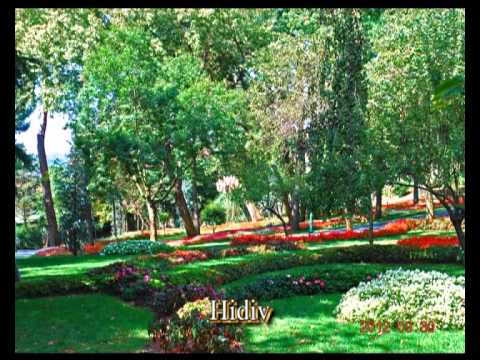 The Istanbul's parks and gardens