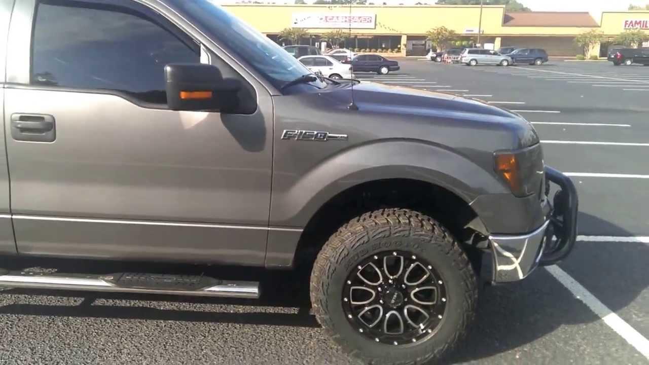 2010 F-150 XLT w/kanati mud hogs wheels - YouTube