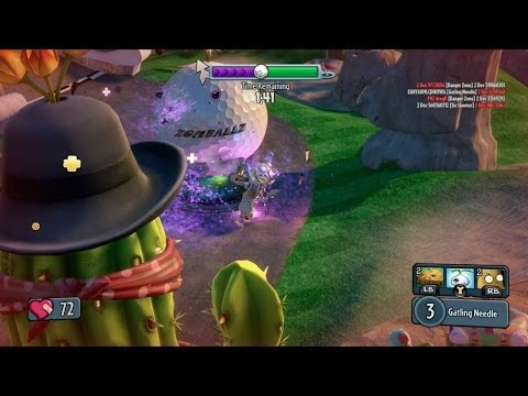 Plants Vs. Zombies  Garden Warfare   The Cactus Canyon Finale