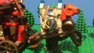 LEGO Castle - Rescue the Queen - Stop motion