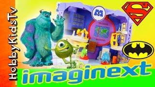 Imaginext Monsters Inc University Scare Floor! HobbyKidsTV