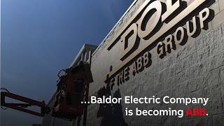 Baldor Electric Company is now ABB