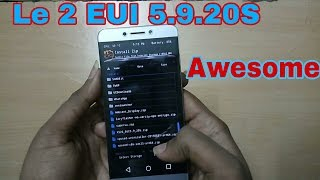 Le eco Le 2 - Install  EUI 5.9.20S(SD652)-Fingerprint gestures, theme store and more!!!!