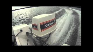 Boat acceleration 70hp Johnson