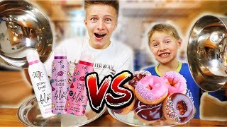 BILOU vs. REAL FOOD 🍩🍒🍦 🍭KRASS: Blind alle Sorten am Geruch erkennen 🤣 TipTapTube 😁 Family 👨‍👩‍👦‍👦