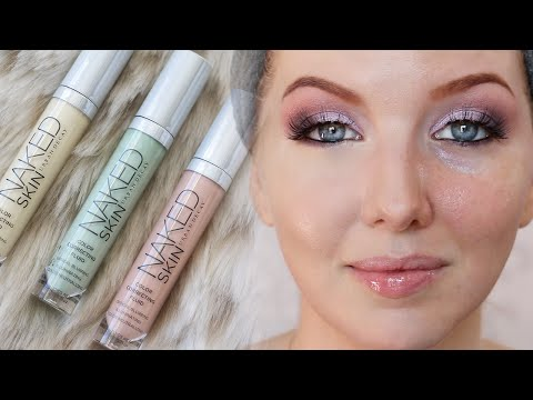 Urban Decay Naked Skin Correcting Fluids   Review & Demo