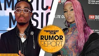 Quavo Exposes Fling with Nicki Minaj in New Song 'Huncho Dreams'