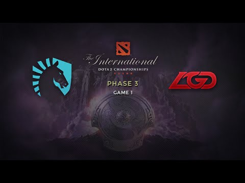 Liquid -vs- LGD, The International 2014, Phase 3, Game 1