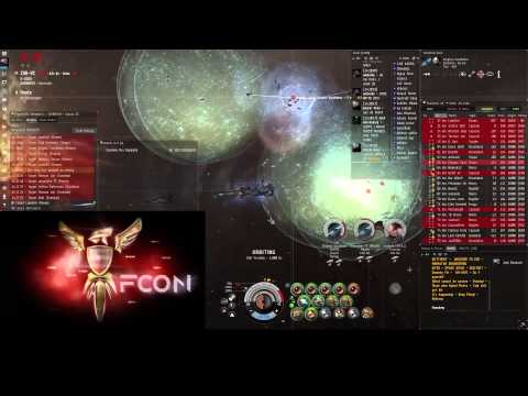 EVE-Online - CFC - The Battle of ZXB-VC (The fall of DARKNESS. staging)