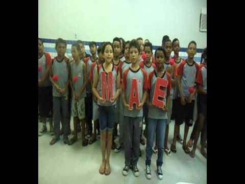 Homenagem dia das Mães - 5º A & B (Escola Municipal de João Pessoa Almirante Barroso)