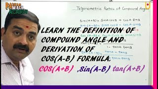 Trigonometric Ratios of Compound Angles