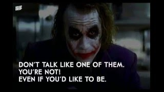download lagu The Joker Best Quotes Heath Ledger أفضل قولات الجوكر gratis