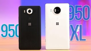 Microsoft Lumia 950 XL and 950 review