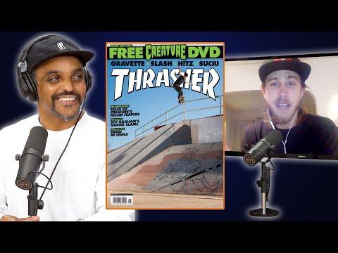 David Gravette's HUGE 50-50 Lands On The Cover Of Thrasher!!