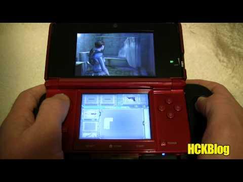 Resident Evil Revelations w/ Dual Analog Test NINTENDO 3DS