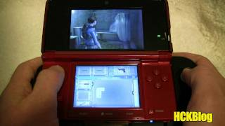 Resident Evil Revelations w/ Dual Analog Test NINTENDO 3DS