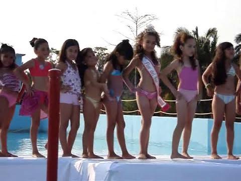 Flor del Sur Infantil 2009, Traje de Baño