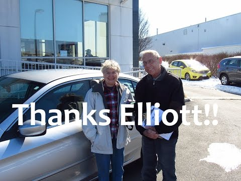 Peggy and Wayne testimonial - Elliott Robinson - Sport Honda - Silver Spring Maryland