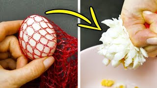 16 GENIUS KITCHEN HACKS