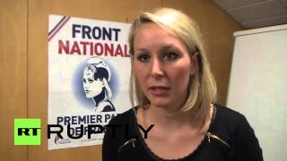 """France: """"Relaunching Cold War completely harmful"""" - Marine Le Pen's niece"""