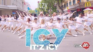 [KPOP IN PUBLIC COLLABORATION] ITZY(있지) - ICY(아이씨) DANCE COVER By BLACKCHUCK ft Oops! Crew