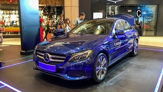 Mercedes Benz C350e Hybrid in Suntec City Singapore