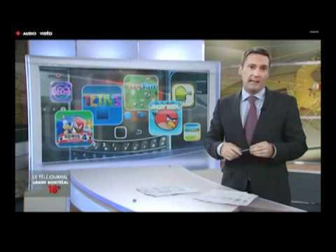Reportage sur l'industrie du jeux vidéo au Québec (Radio-Canada, Janvier 2012)