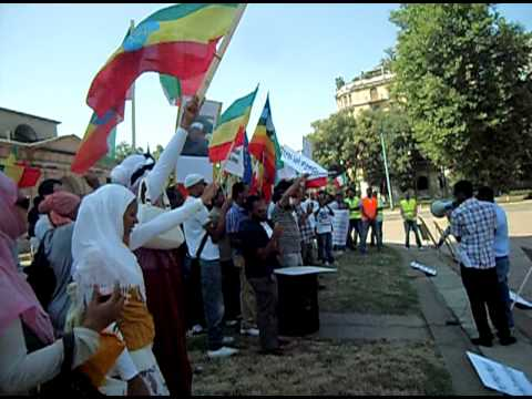 bilal tube - Protest made by Ethiopian Muslims living in italy 29/07/2012