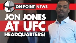 Jon Jones At UFC Headquarters, Eryk Anders Replaces Jimi Manuwa, Liddell And Ortiz Face Off