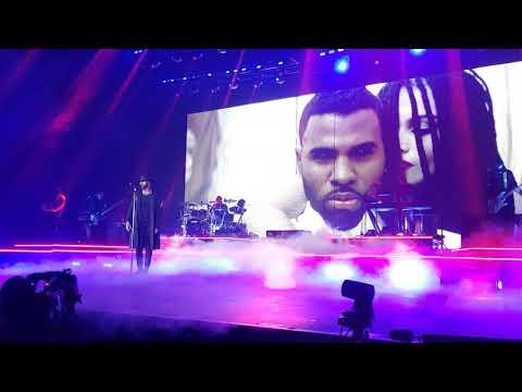 Download  Jason Derulo 2Sides Tour - IF I'M LUCKY / CHEYENNE live - Oberhausen 03.10.2018 Germany Front Row Gratis, download lagu terbaru