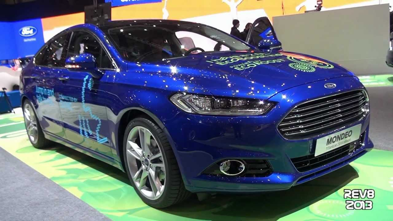 2014 ford mondeo ecoboost titanium 2013 geneva motor show youtube. Black Bedroom Furniture Sets. Home Design Ideas