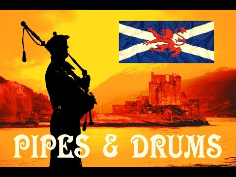 Pipes &amp  Drums   The London Scottish Regiment   Highland Laddie   Black Bear