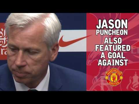 Crystal Palace 1-2 Man United - words and numbers