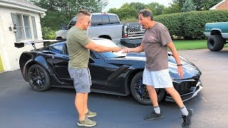 TRUSTING MY NEIGHBOR WITH THE ZR1 FOR A WEEK... Wait Until You See What He Did LOL
