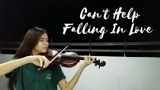 Can 39 T Help Falling In Love Haley Reinhart Violin Justerini