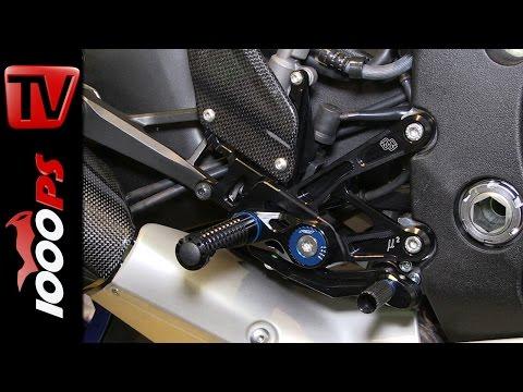Gilles Tooling High Performance Zubeh�r | Yamaha R1 | Motorr�der Dortmund 2015
