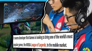League Of Legends Is Coming To Mobile?
