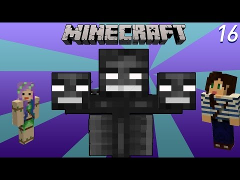 Wither Boss Battle - Minecraft Diversity W  Stacy Ep16 video
