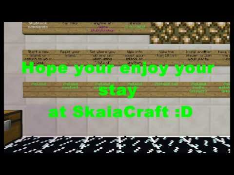 Minecraft 1.7.2 Cracked Server SkaiaCraft(Minigames:HungerGames,Paintball,Ctf,Ki