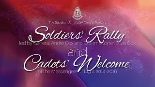 Soldiers Rally and Cadets Welcome 2014
