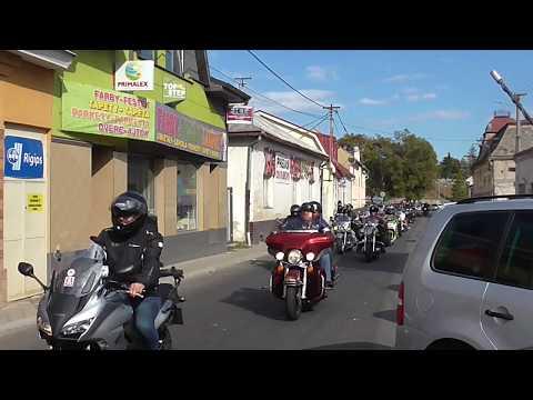 Királyhelmec Szüreti ünnepség Motoros vonulás 2019
