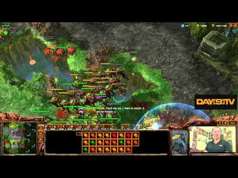 Day[9]'s Day Off - SC2 2v2v2v2 & Monobattles! P4