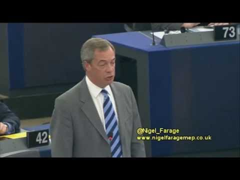 There's No Consent for a 'United States of Europe' - @Nigel_Farage @UKIP klip izle