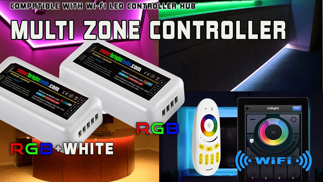 Smartphone Or Tablet Wifi Compatible Led Color Changing